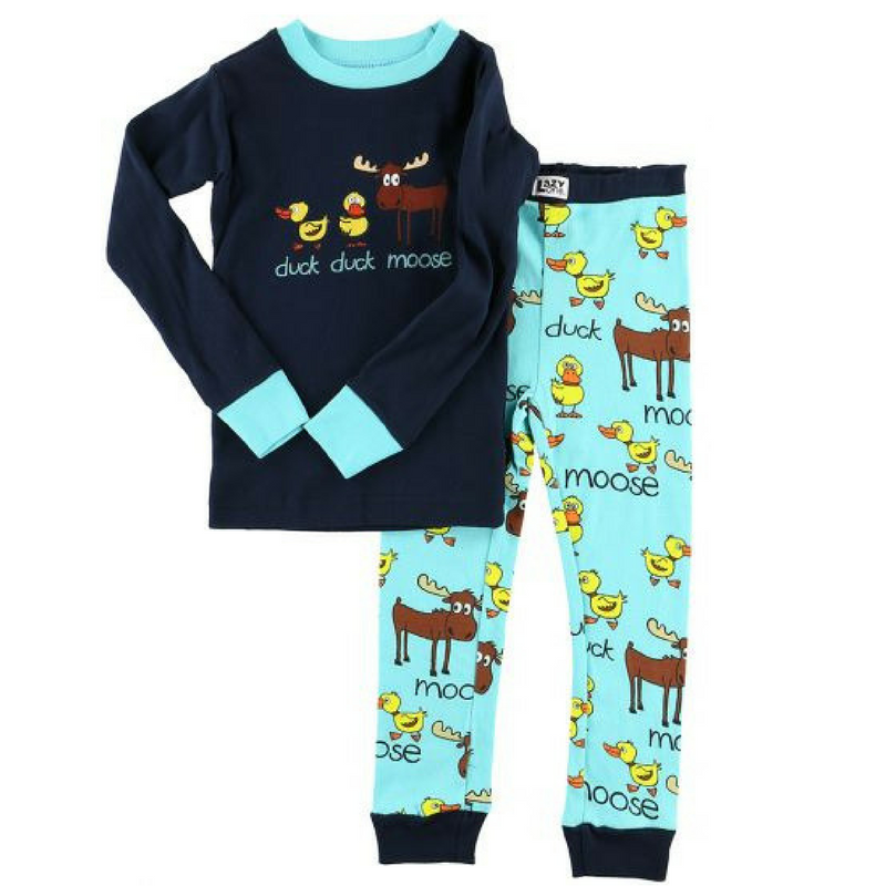 Duck Duck Moose Boy PJ Set